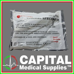 PARTNERS. Vaginal Speculum, Size (Large) 1 pack