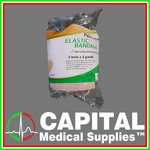 Partners, Elastic Bandage ( 2 x 5 yards ) 1 roll