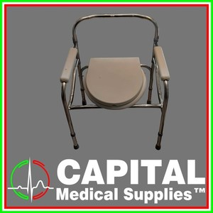 Stainless Commode Chair,  1 unit