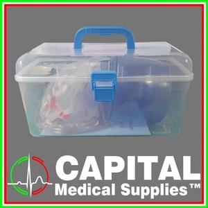 Manual Resuscitator Adult, Child, PVC, 1 pc