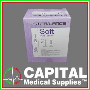 Blood Lancet, Sterile ( Sterilance 100pcs)