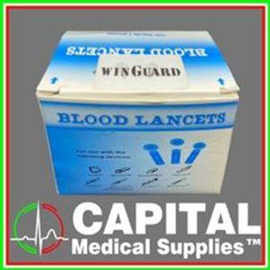 WINGUARD, Blood Lancet, Sterile 100pcs