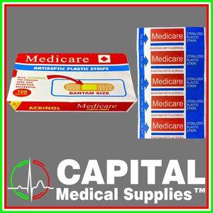 Medicare, Adhisive Bandage, 100pcs