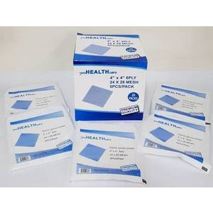 """ProHealthCare - Sterile Gauze Swabs (4"""" x 4"""" - 8 Ply)"""